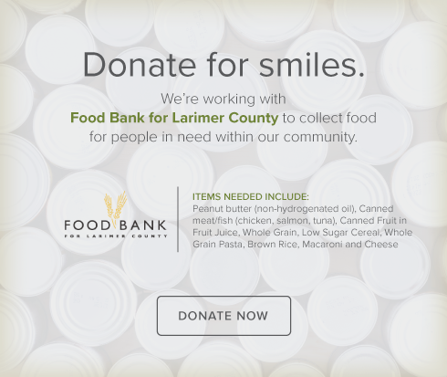 Food Drive - Food Bank for Larimer County - Fort Collins Modern Dentistry