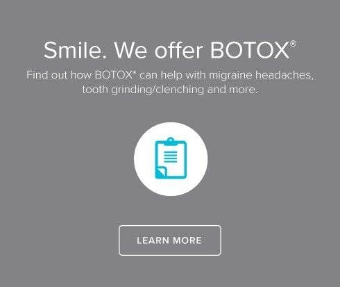 We Offer Botox - Fort Collins Modern Dentistry
